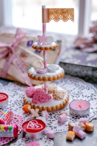 Valentine's Day Miniature Cookie Etageres